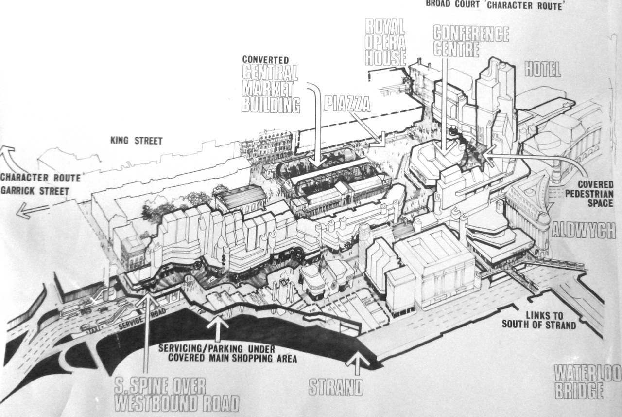 Redevelopment plan from 1968