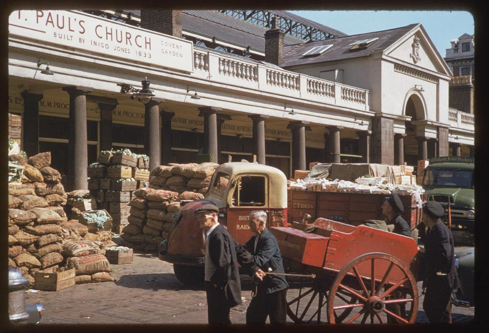 Covent Garden, 1961 by C.W. Cushman.