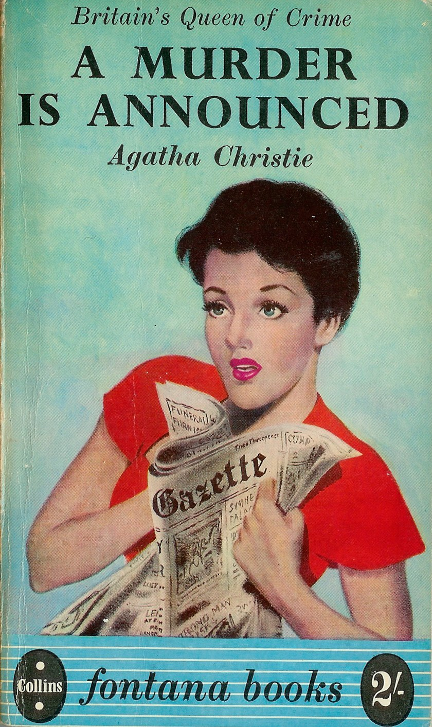 Murder is Announced is a Miss Marple mystery and first published in 1950.