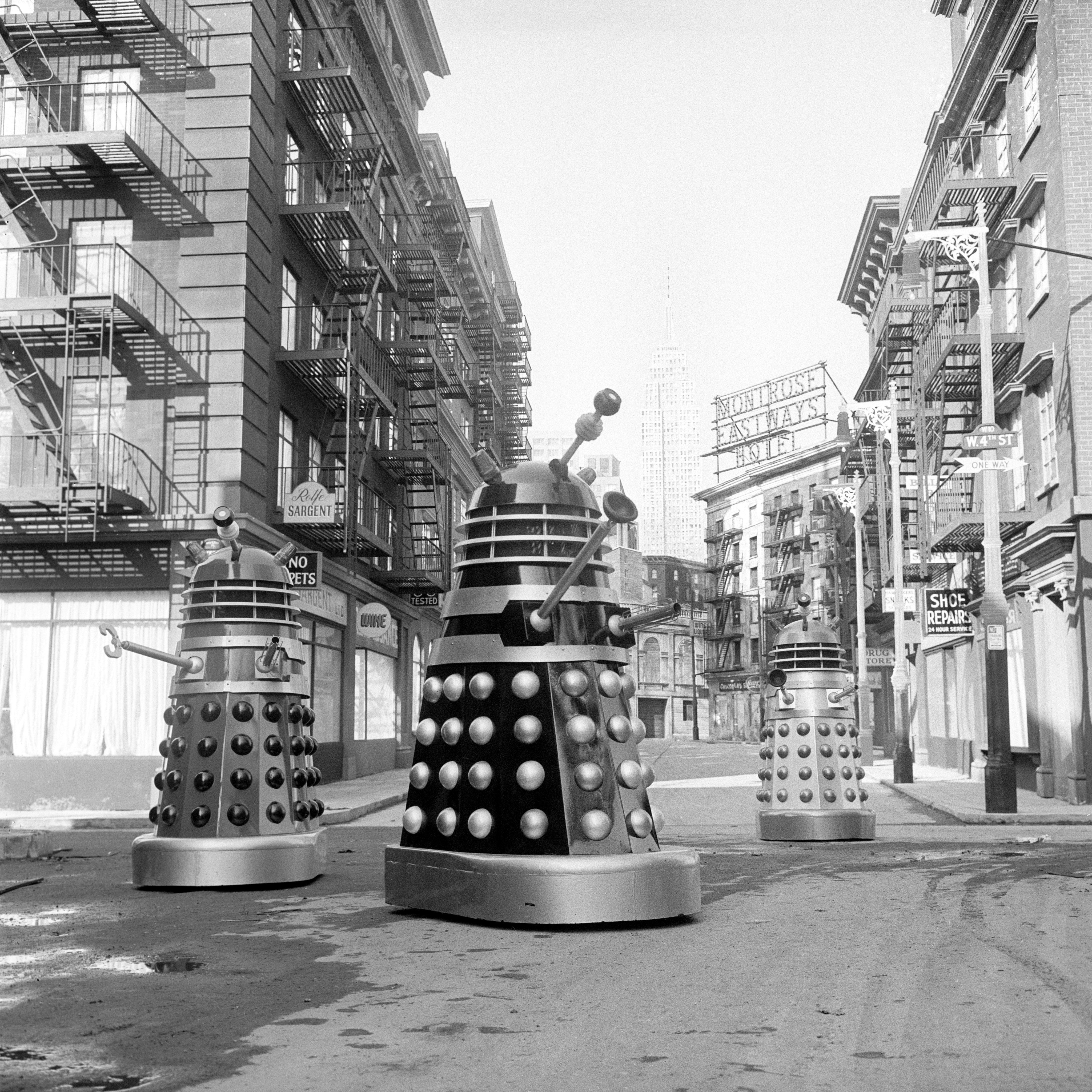 Meeting Dr Who S Daleks In The 1960s 19 Photos