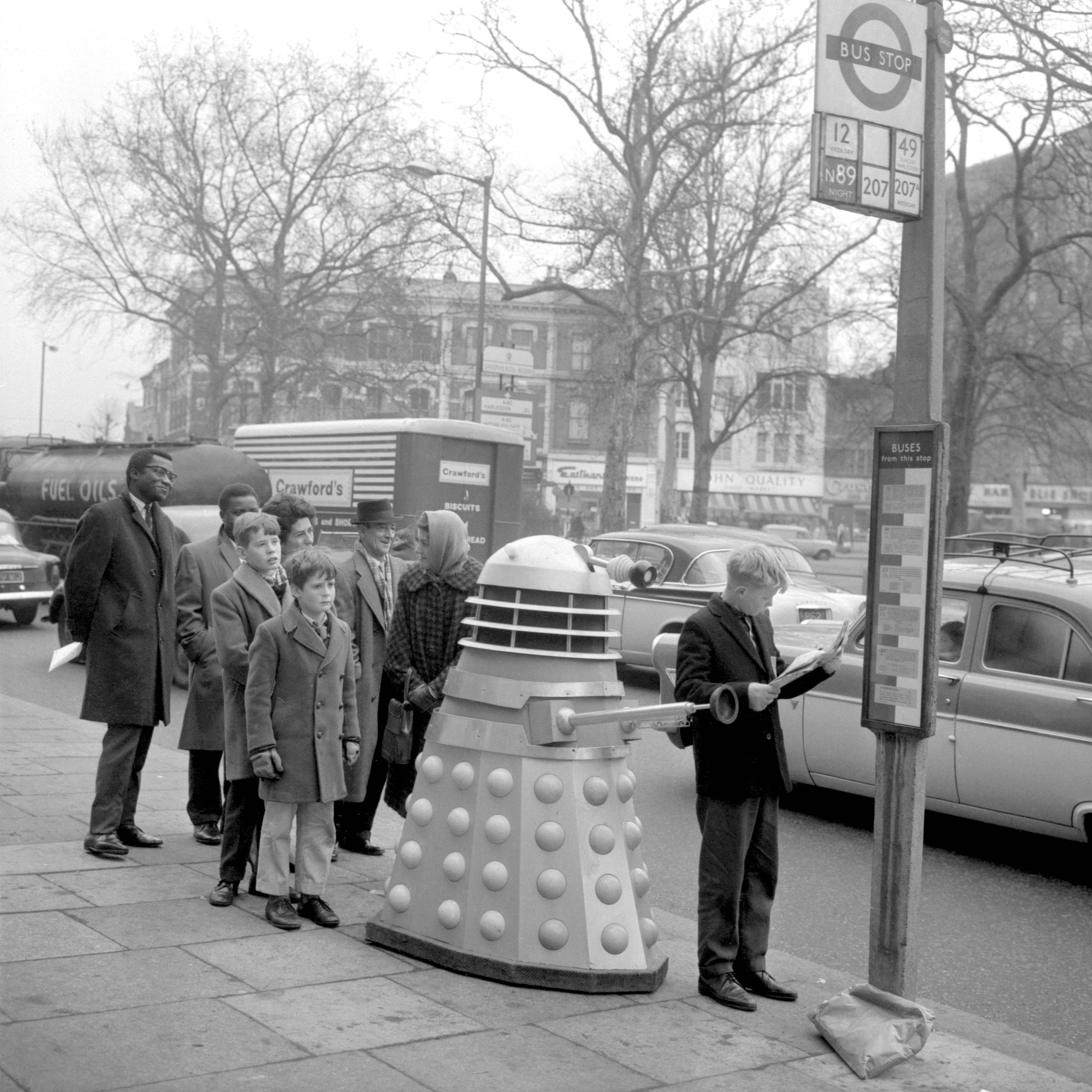 Meeting Dr Who S Daleks In The 1960s 19 Photos Flashbak