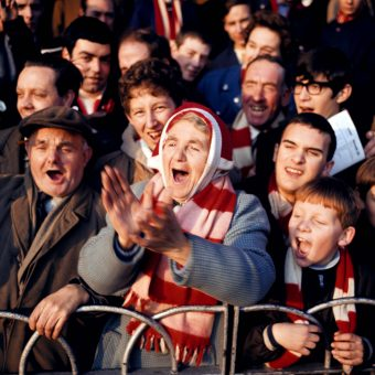 1968: Cheering Arsenal Fan Florrie Burgess Saw The Gunners First Play At Highbury on September 6th 1913