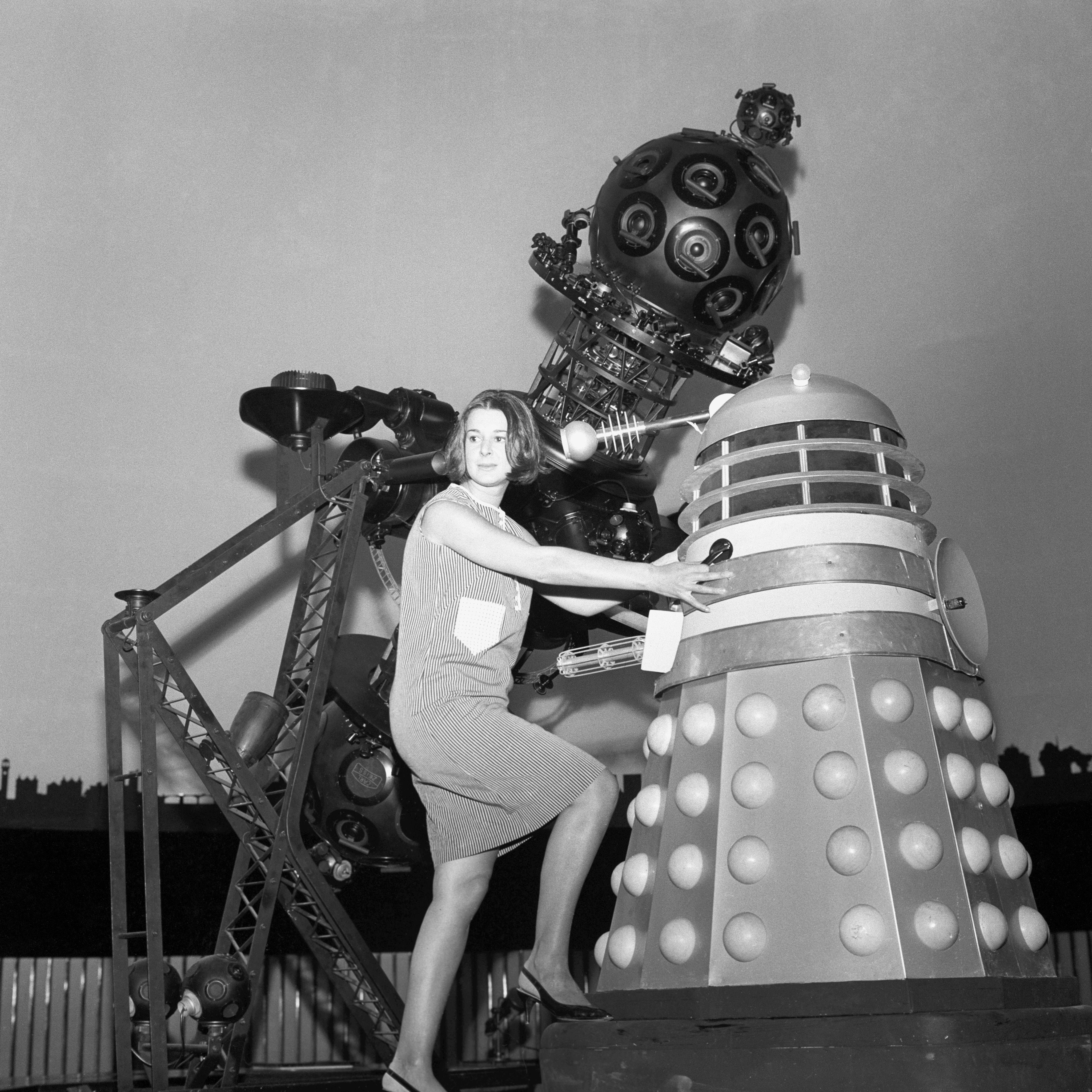 meeting dr who's daleks in the 1960s (19 photos) - flashbak