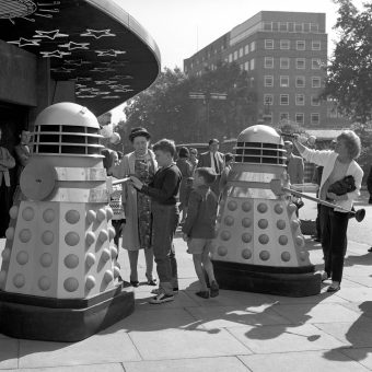 Meeting Dr Who's Daleks In The 1960s (19 Photos)