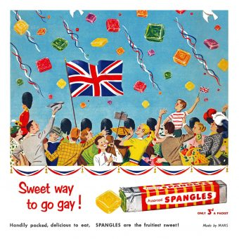Sweet Way to Go Gay! Wonderful Spangles ads from the 1950s