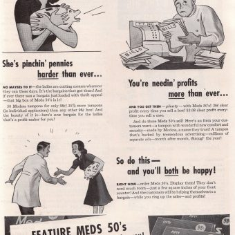 Of Bromides and Zino-Pads: A Look Inside American Druggist Magazine (1942)