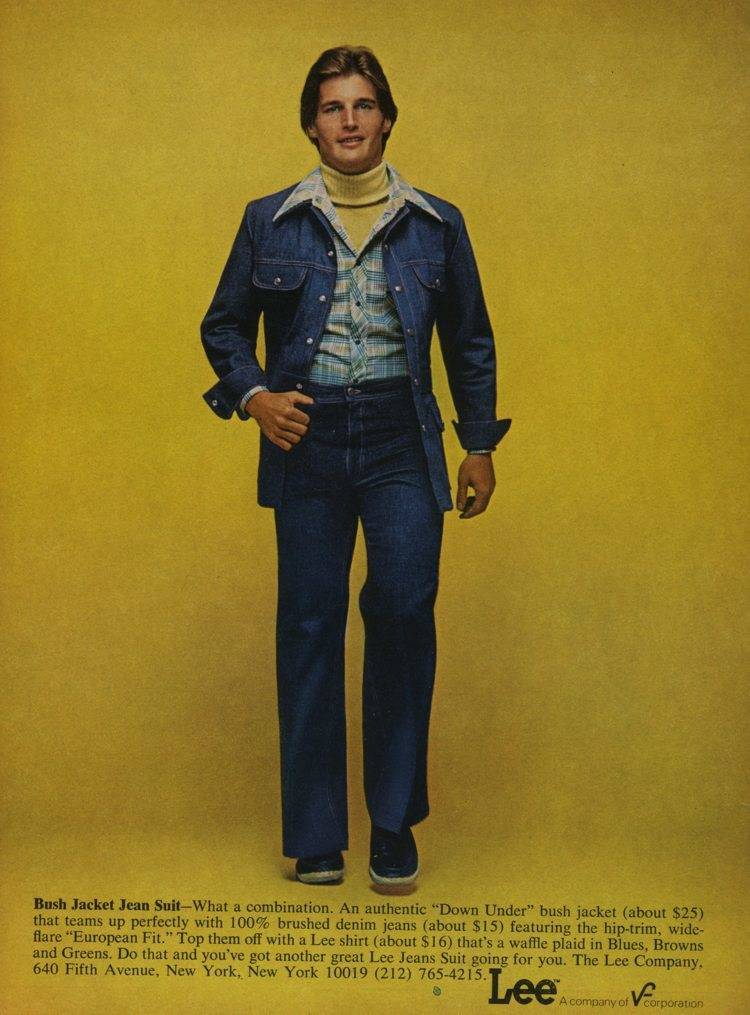 1970s Lee Adverts From Denim Leisure Suit Hell Flashbak
