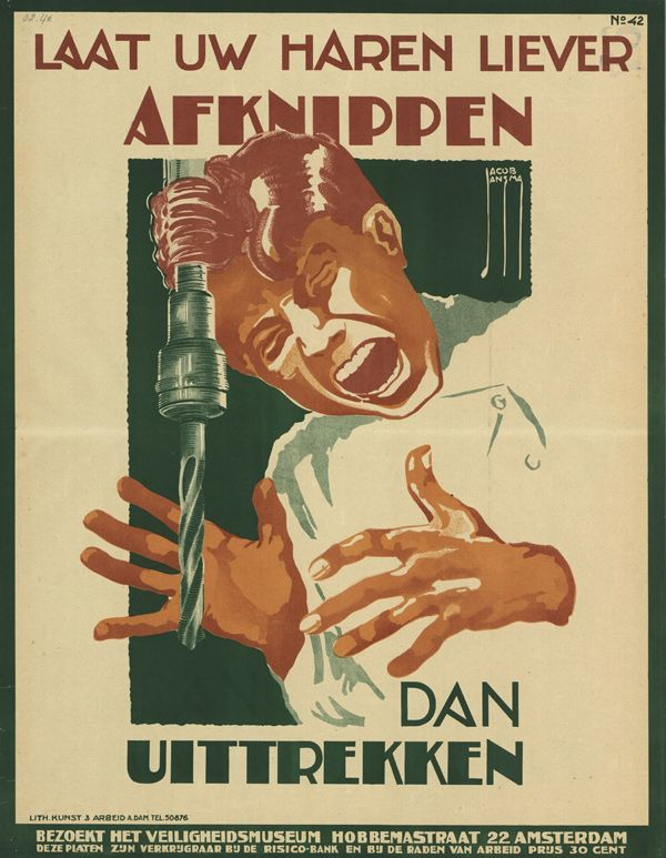 1925, poster by Jacob Jansma