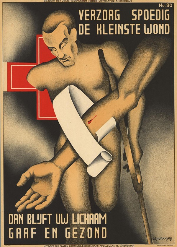 1939, poster by Gé Hurkmans