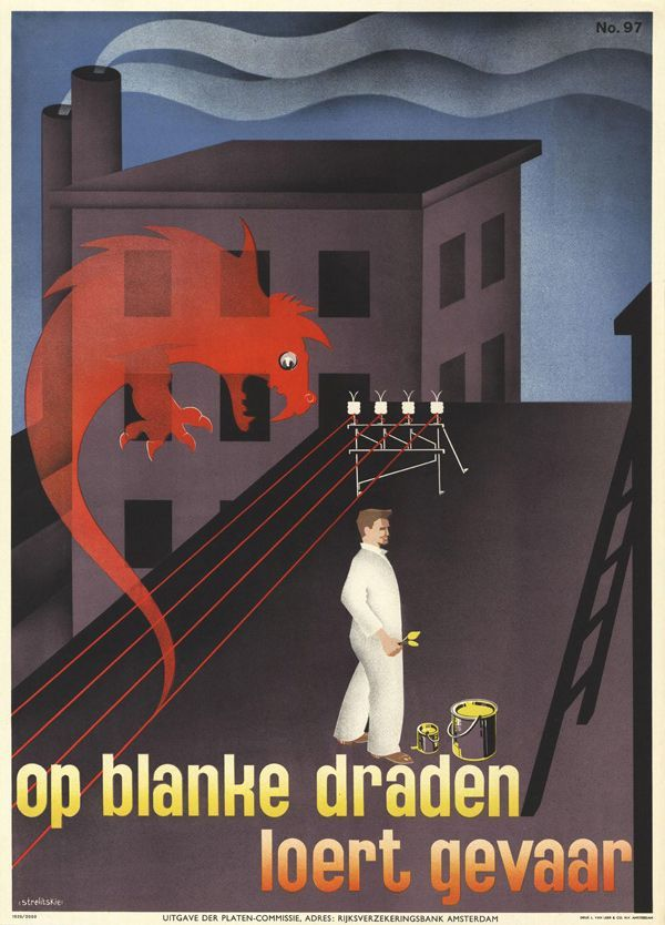1939, poster by Strelitskie