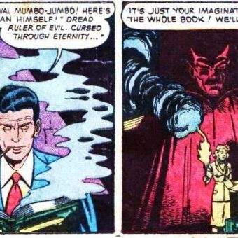 Senseless Idiots of Vintage Horror Comics