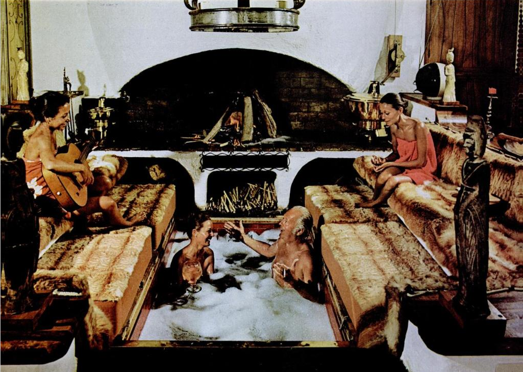 1970s hot tubs disease laden sex tanks flashbak. Black Bedroom Furniture Sets. Home Design Ideas