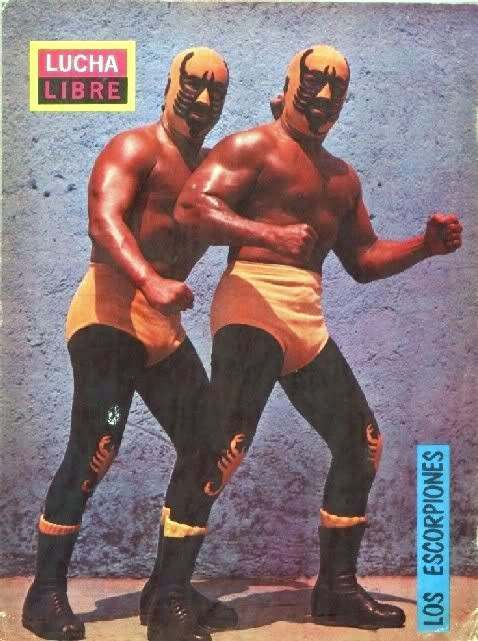 Lucha Libre Magaine Covers Of The 1970s