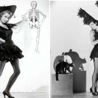 Sexy Witches: Vintage Halloween Pin-Up Girls