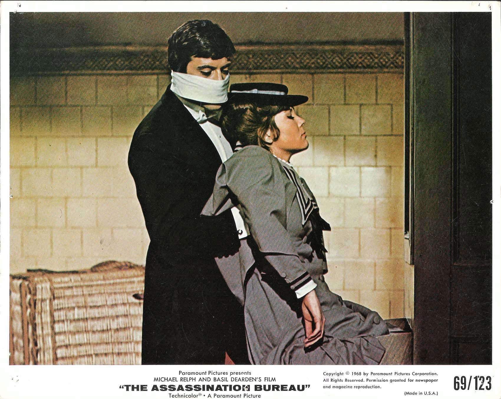 pictures of diana rigg and oliver reed from the 1969 film 39 the assassination bureau 39 flashbak. Black Bedroom Furniture Sets. Home Design Ideas