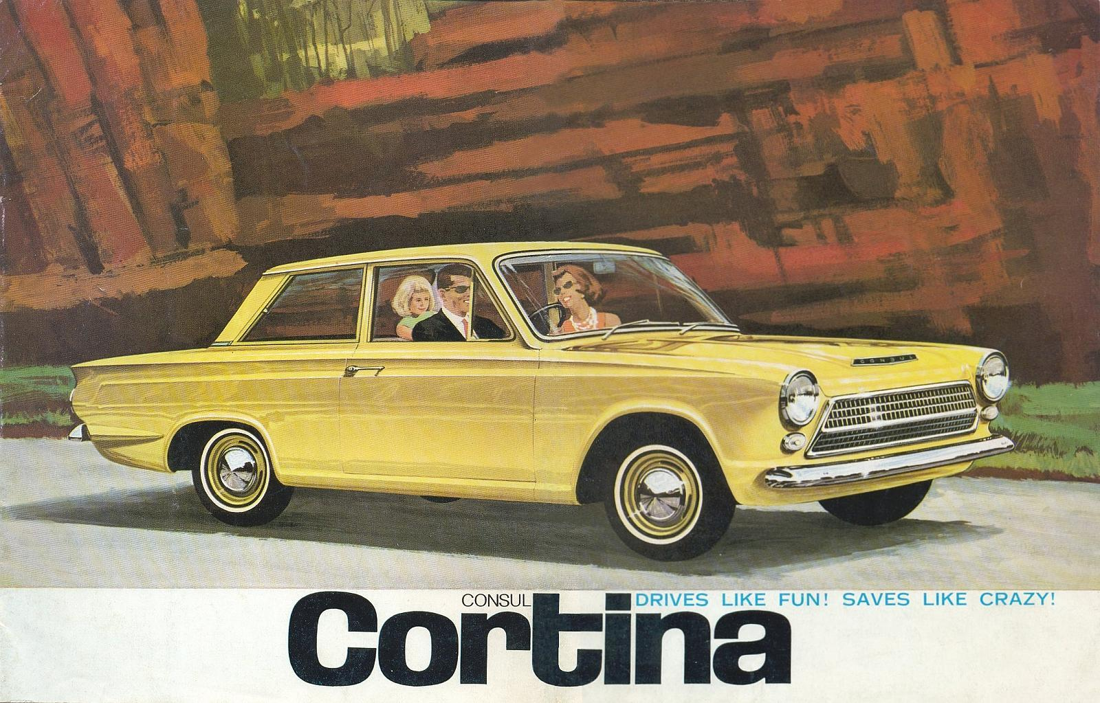 An Australian For Cortina ad from 1963.