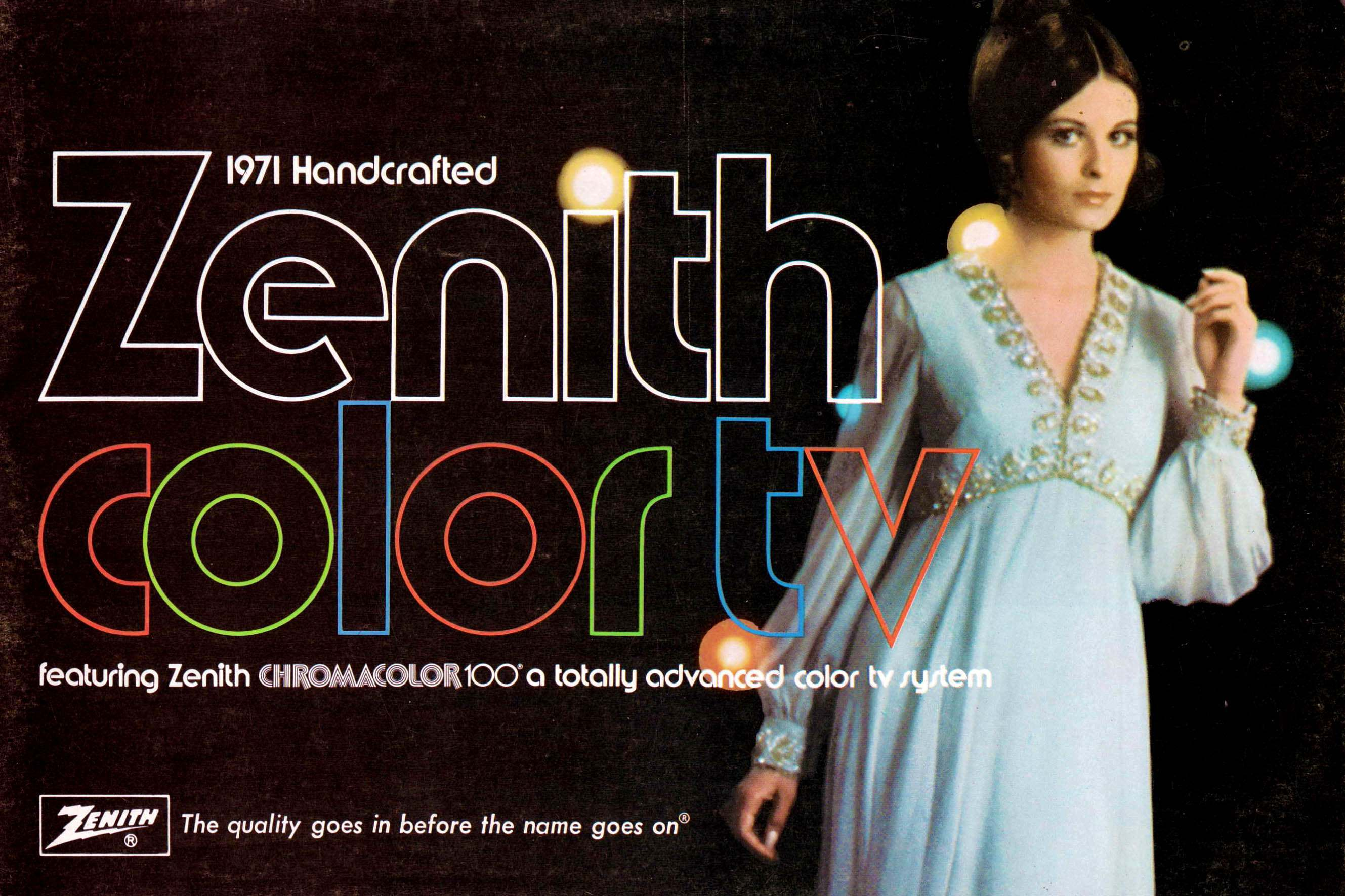 62_1971 Zenith Color TV-1