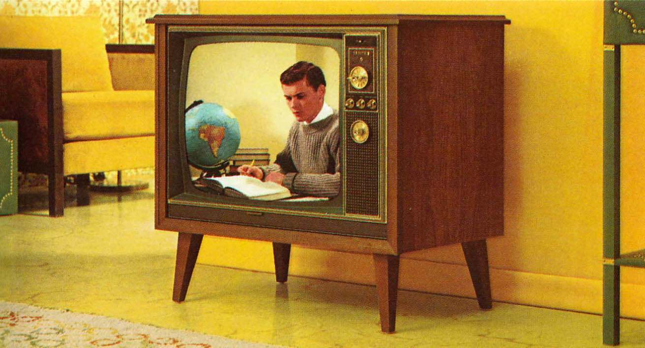The Amazing 1971 Zenith Color Tv