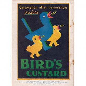Thirteen Gorgeous Old Bird's Custard ads