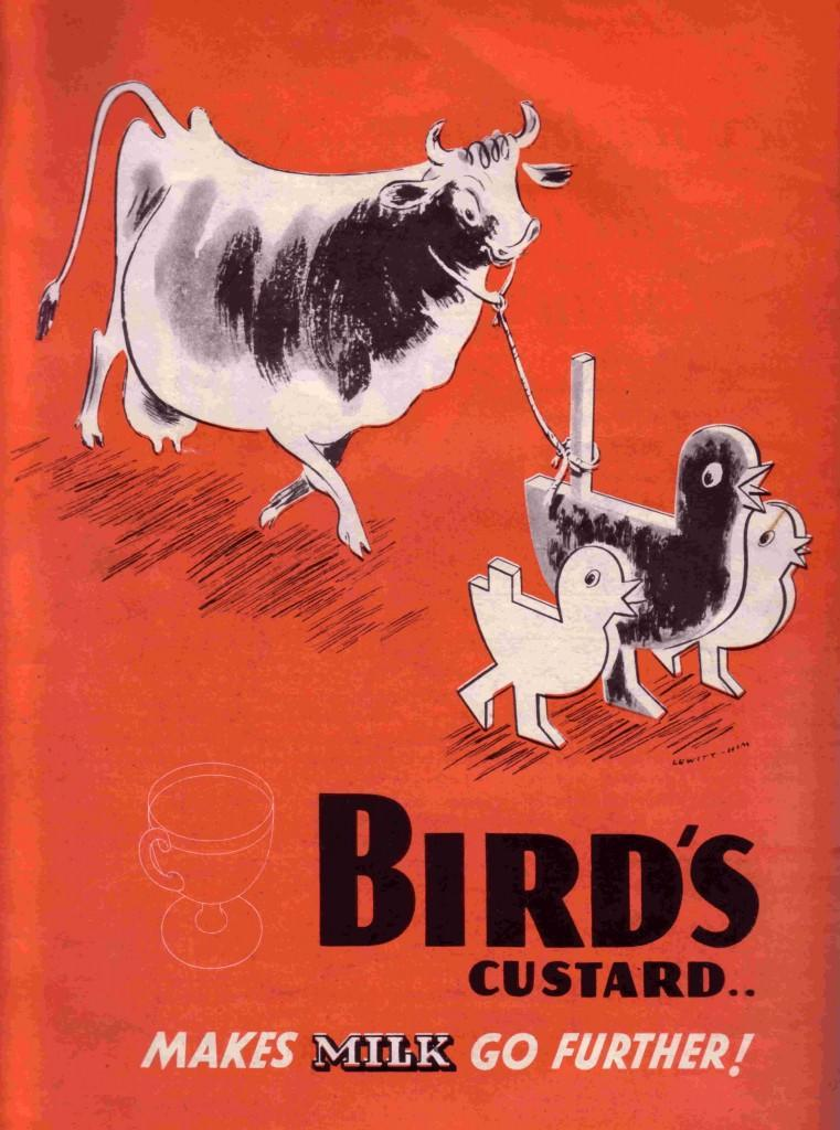 Bird's advertising advert WW2