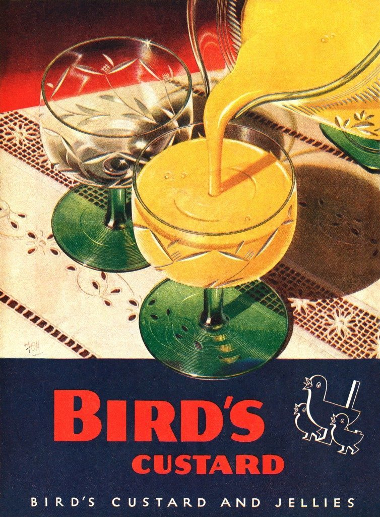 Bird's advert advertising WW2
