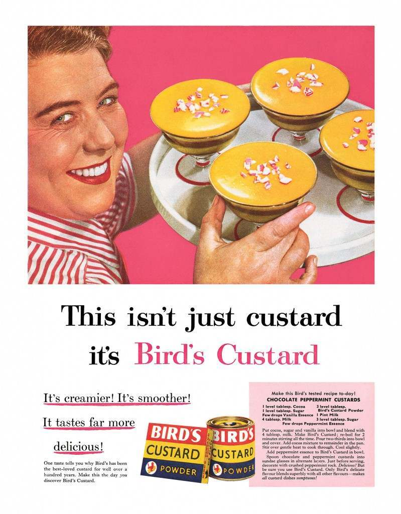 Bird's advert advertising
