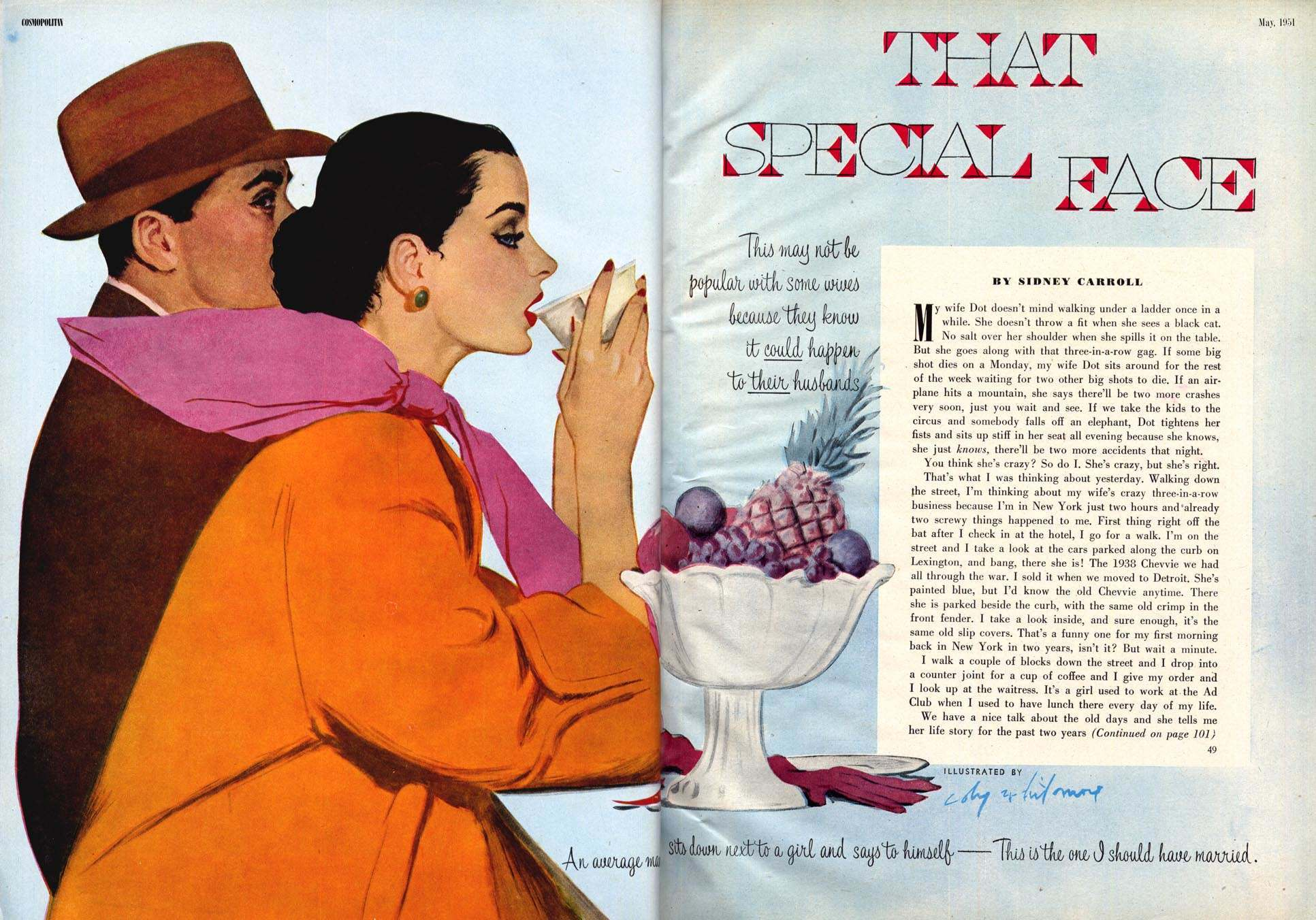 Cosmopolitan May 1951 Coby Whitmore