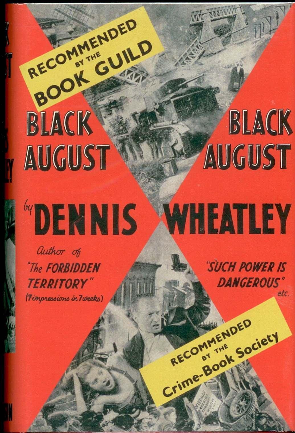 Black August published in 1934.