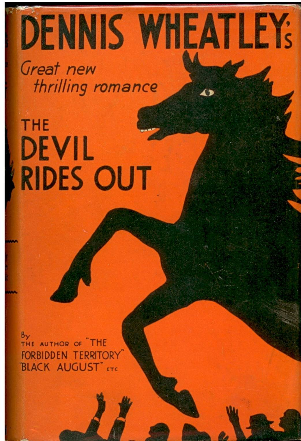 The Devil Rides Out published in 1934.