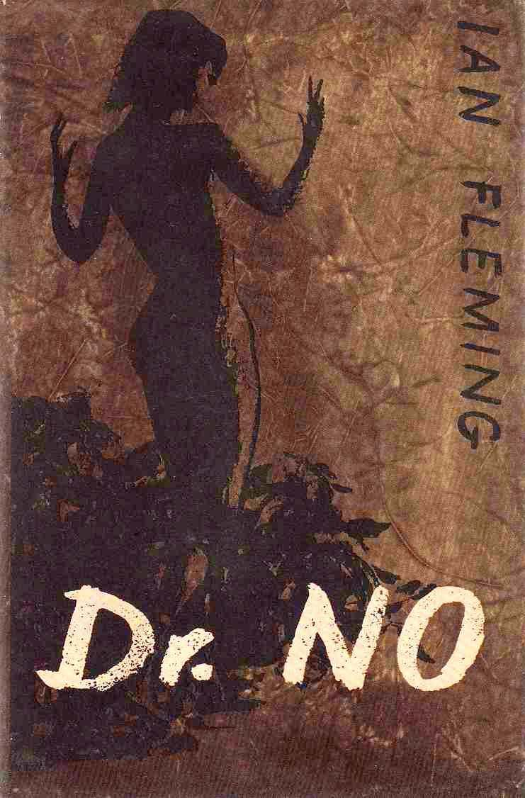 Cover of the first edition of Dr No published by Jonathan Cape in 1958