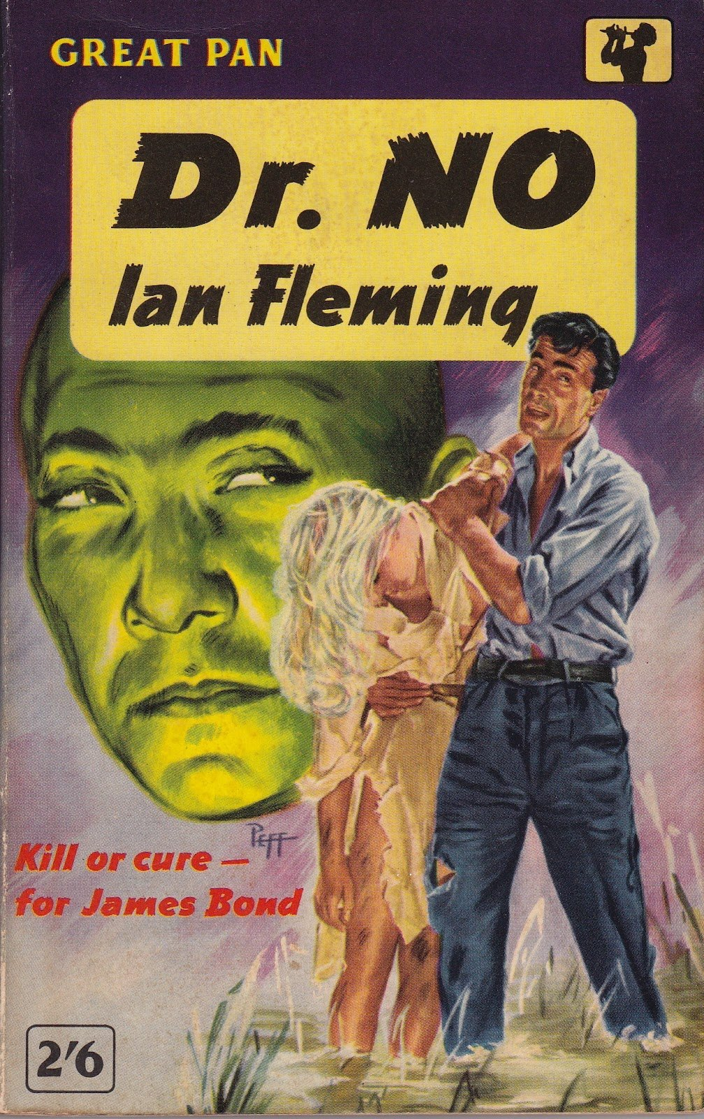 Dr No paperback published by Pan in 1962.