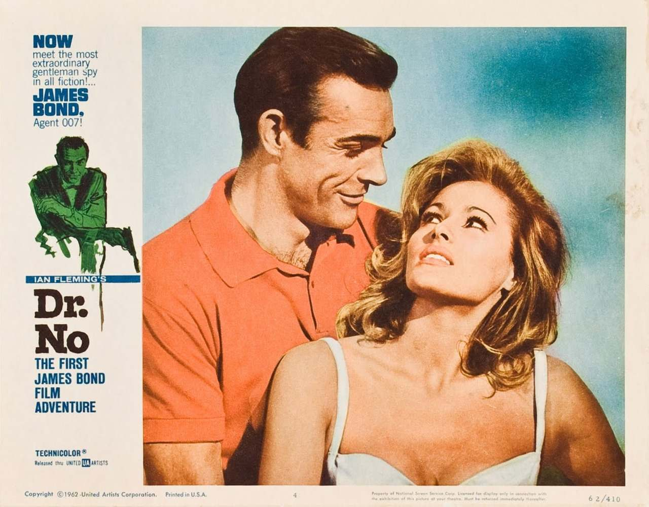 Dr No Lobby Card 1