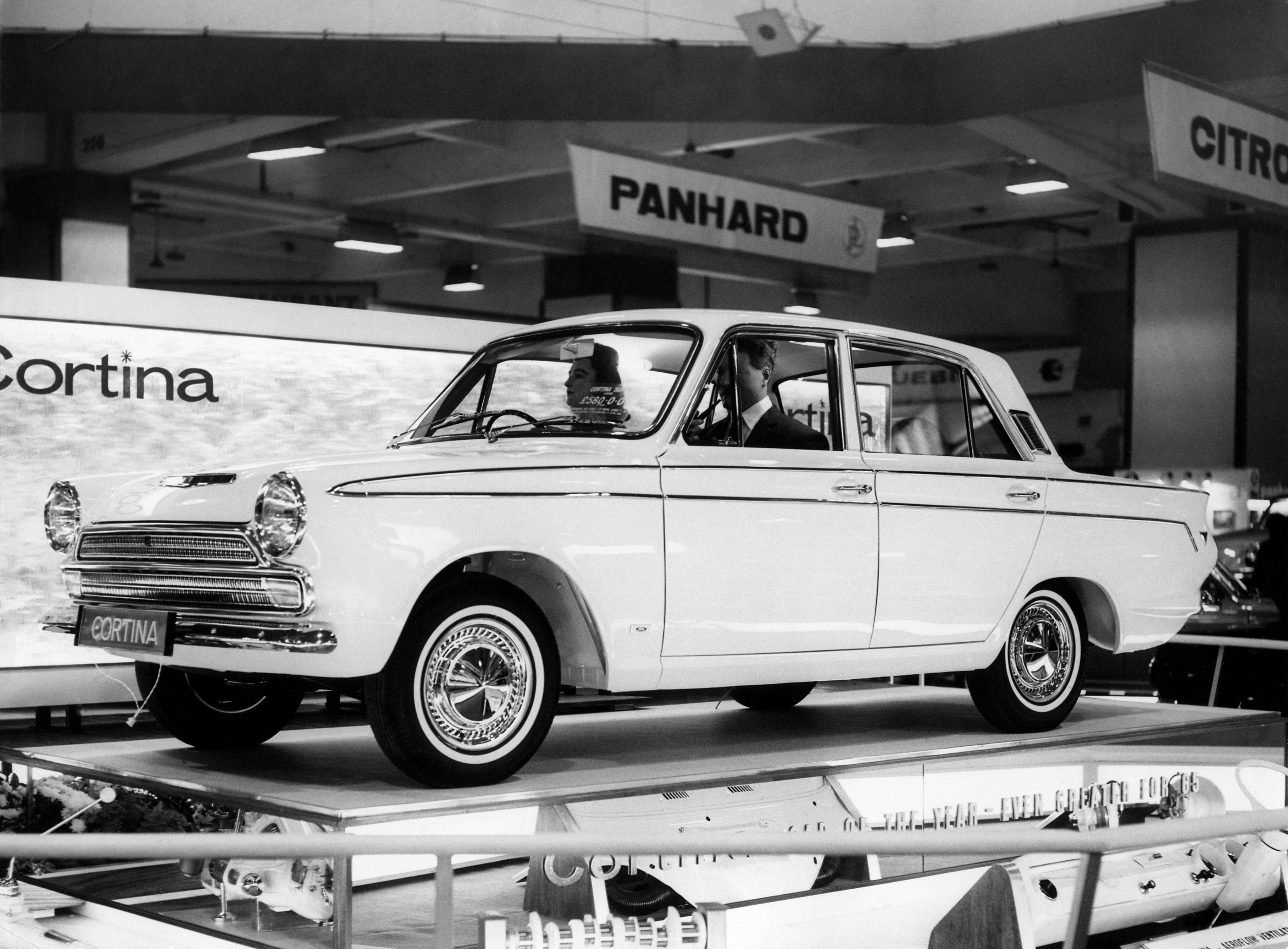 The Ford Cortina Mk 1 was first on sale in 1962 and was voted car of the year in 1964.