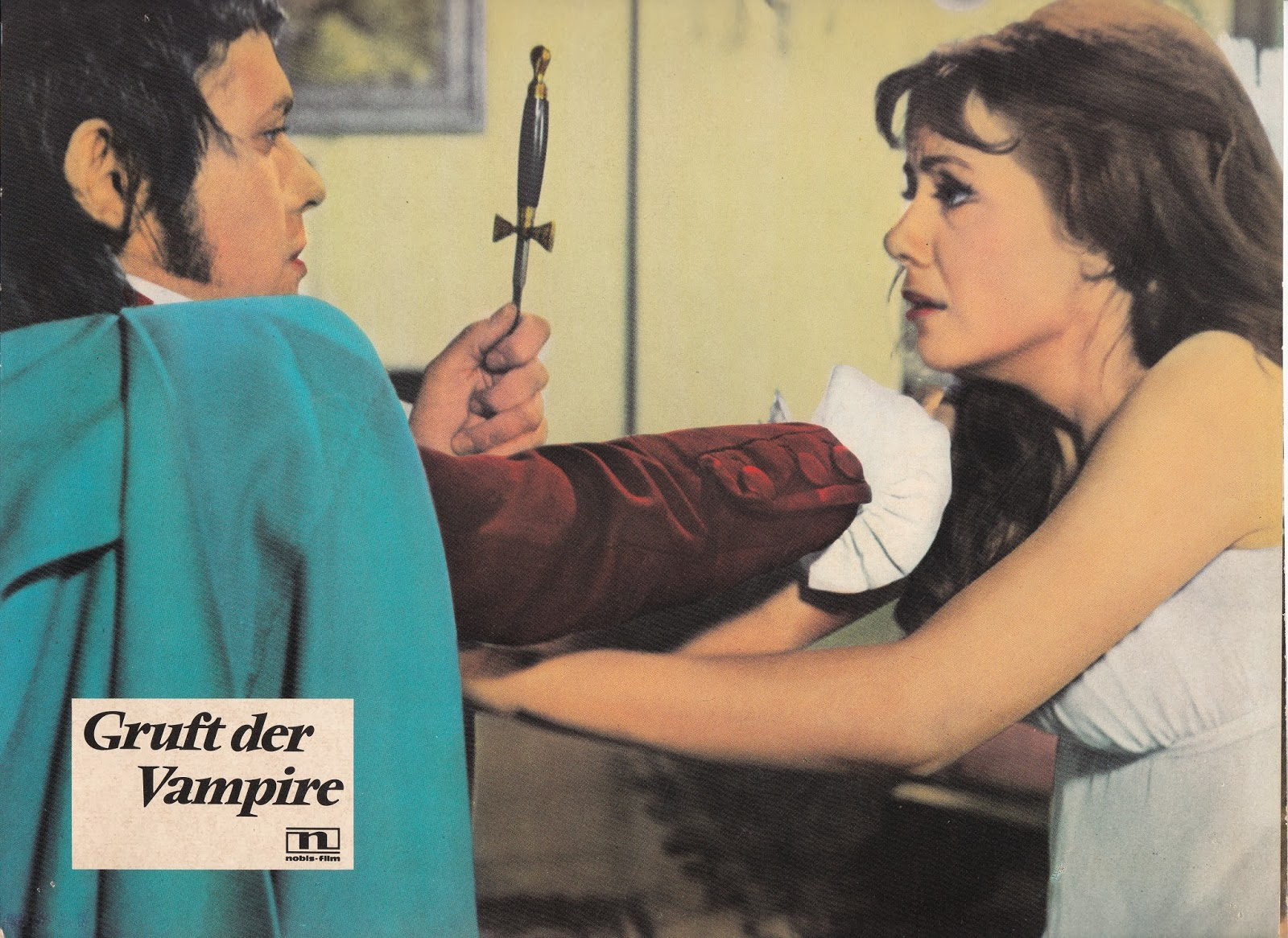 German Lobby Card for Vampire Lovers