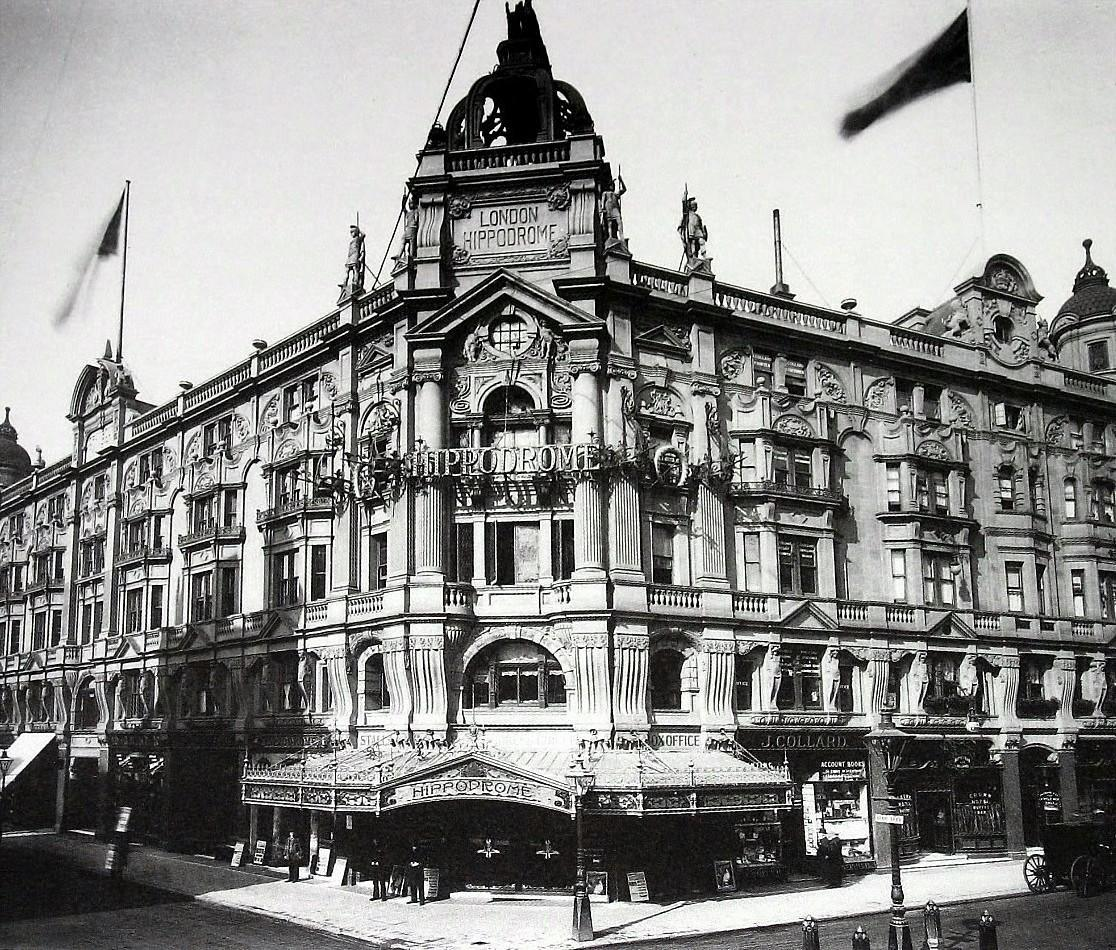 The Hippodrome on Charing Cross Road in 1911.