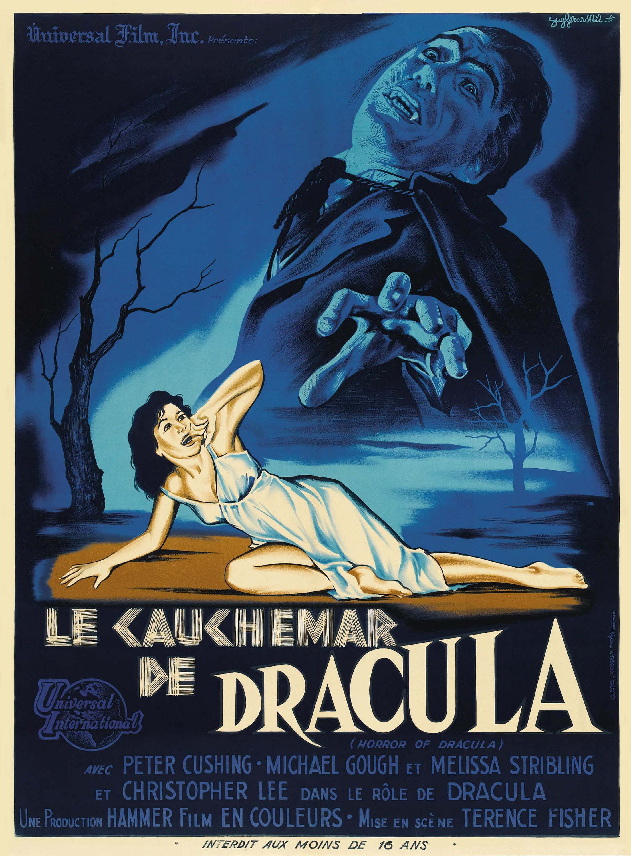 French poster for Dracula