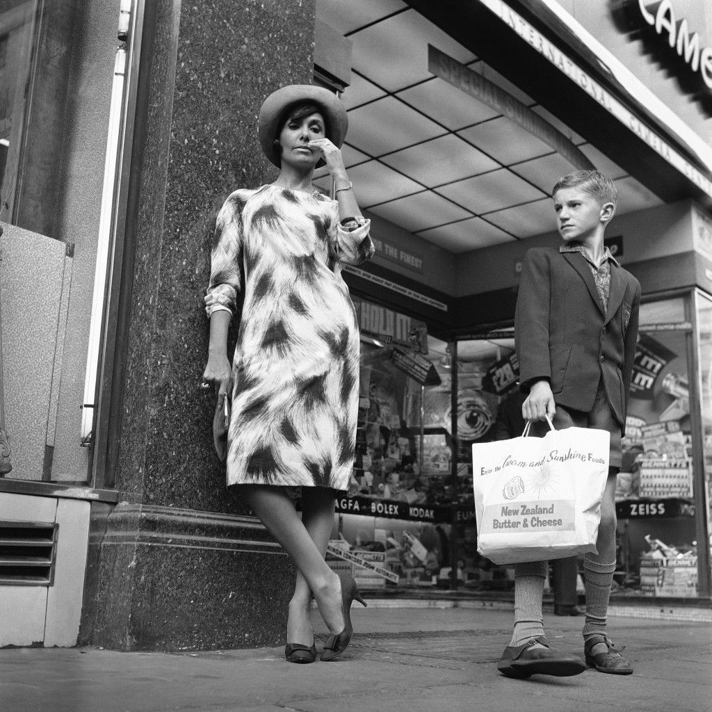 Lena Horne in Leicester Square while appearing at the Talk of the Town in 1964.