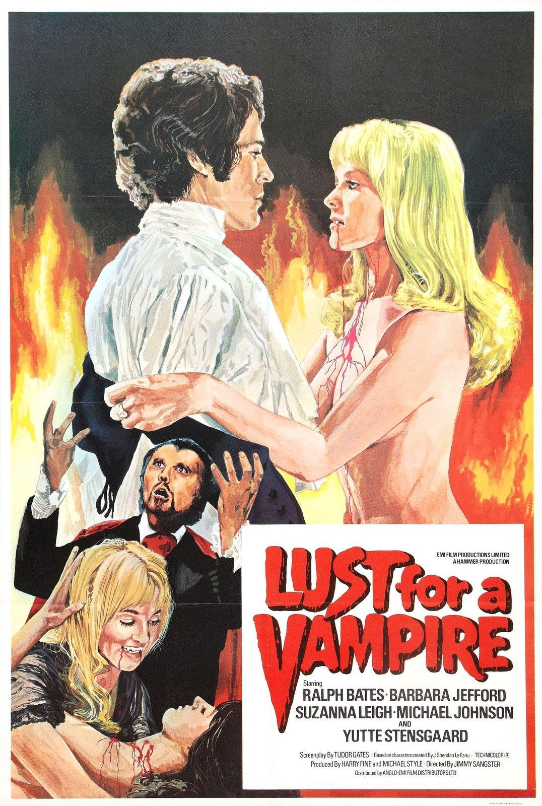 Lust for a Vampire poster (1971)