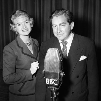 Wonderful Photos and Films from the Golden Age of BBC Radio