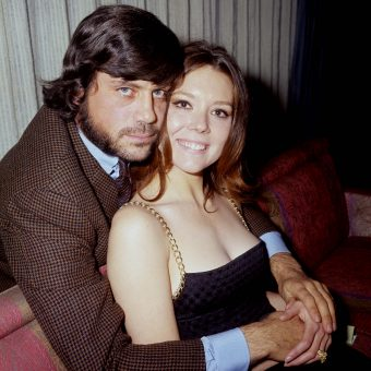 Pictures of Diana Rigg and Oliver Reed from the 1969 Film 'The Assassination Bureau'