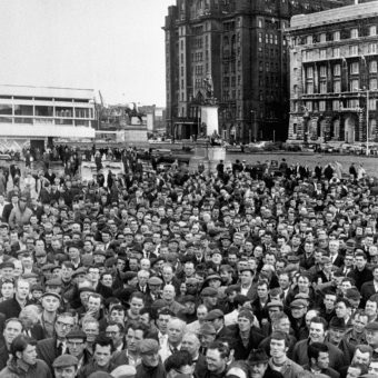 Liverpool Dockers Strike In 1970