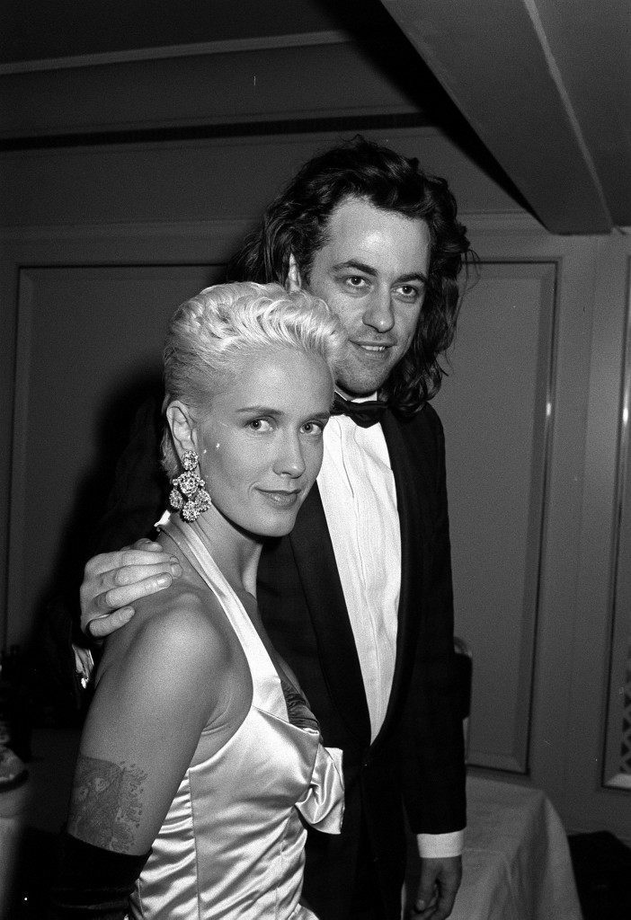 Pop star Bob Geldof and his wife TV presenter Paula Yates. * 17/9/2000: 41 year old Yates has died, her solicitor Anthony Burton confirmed. Scotland Yard said officers were called to an address in St Luke's Mews, Notting Hill, west London, by an ambulance crew. The spokesman said a body was found in a bedroom and the cause of death will not be known until the post mortem.  Ref #: PA.1291349  Date: 12/04/1988
