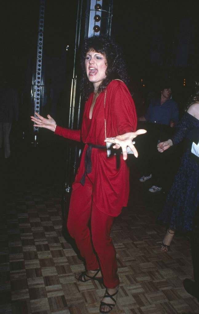 Lucie Arnaz dances at New York's Studio 54, March 1979. (AP Photo)
