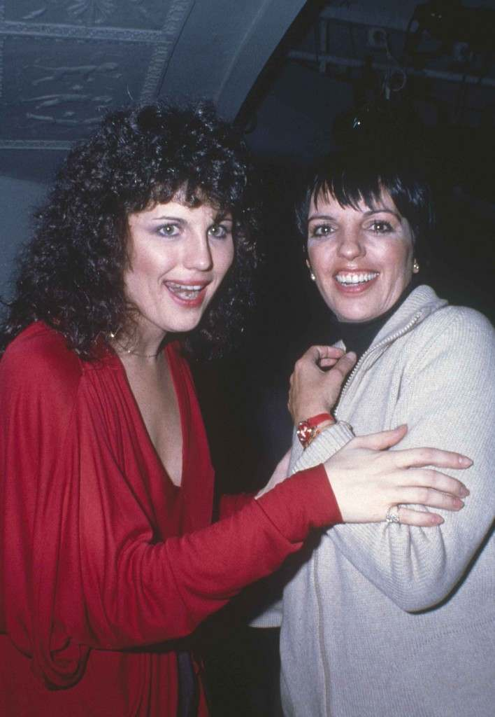 Lucie Arnaz, left, and Liza Minnelli chat at New York's Studio 54, March 1979. (AP Photo) Ref #: PA.17557221 Date: 01/03/1979