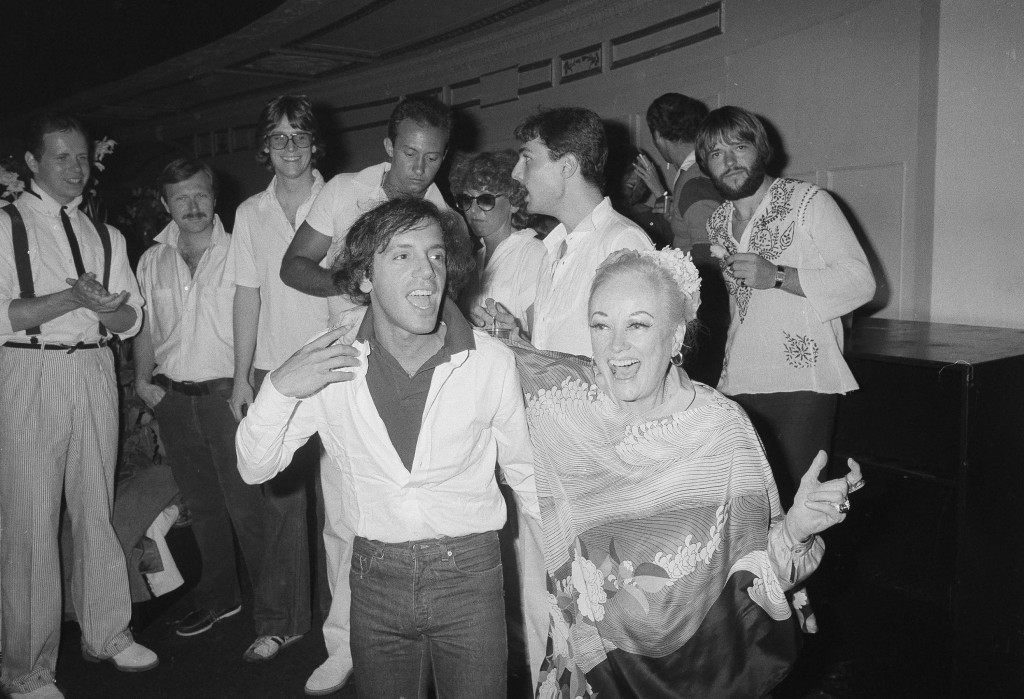 Veteran comedian Phyllis Diller hits the dance floor with club owner Steve Rubell at Studio 54 in New York, June 11, 1978. (AP Photo) Ref #: PA.17590637 Date: 11/06/1978