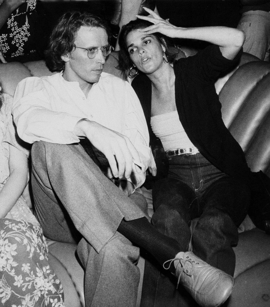 Actress Ali MacGraw and actor Peter Weller relax at New York's Studio 54, May 11, 1979. They have just completed a movie together. (AP Photo) Ref #: PA.17654478 Date: 11/05/1978