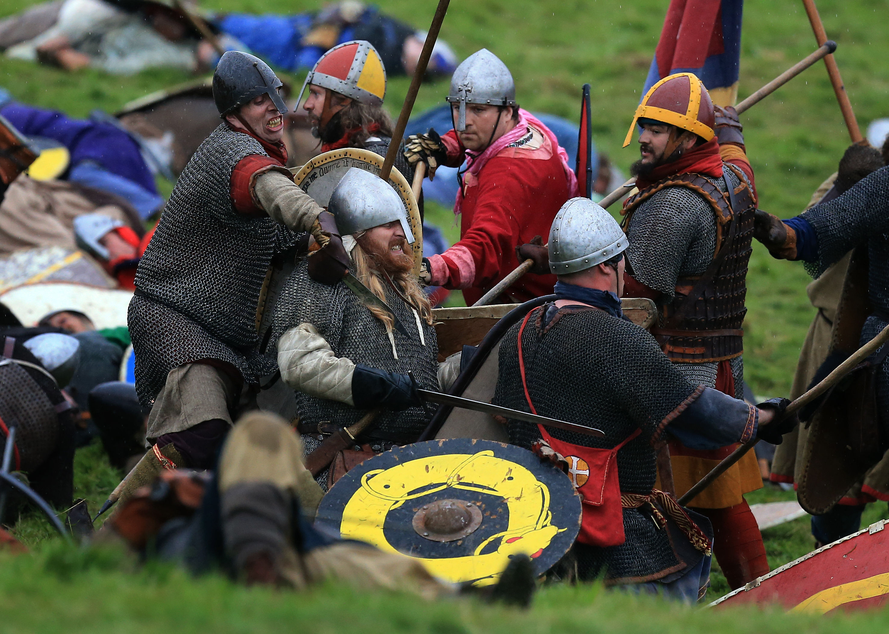 Battle of Hastings re-enactment