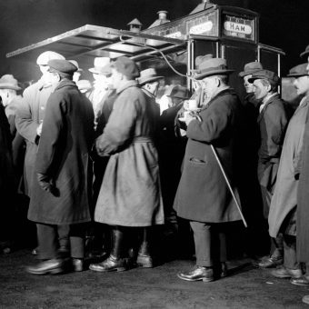 JM Barrie Queues For Coffee In London 1921, And Other Moments In Exile