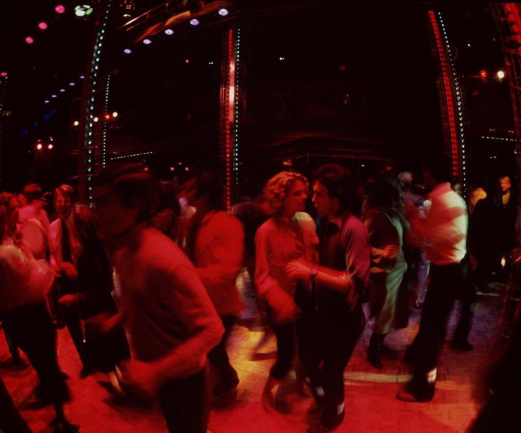Dancers gyrate to a disco beat on the floor of New York's Studio 54 in 1978. Ref #: PA.4400327 Date: 01/01/1978