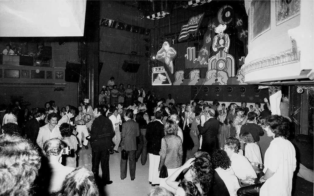 Patrons enjoy themselves at New York's Studio 54 in 1978. Co-owner Ian Schrager was arrested for cocaine possession Dec. 1978, during an Internal Revenue Service search of the disco's books, according to U.S. Attorney Peter Sudler. (AP Photo)